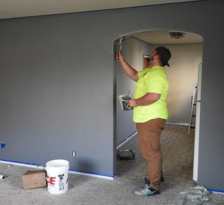 How Do You Paint Over Previously Painted Walls?